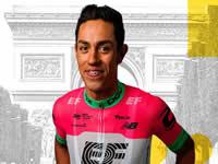 Daniel Martínez, el soachuno que  espera dar sorpresas en el tour de Francia