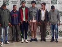 Capturados 'Los cacharros', responsables de por lo menos 7 homicidios en Soacha