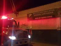 Controlado incendio en  jardín infantil oficial  de Soacha