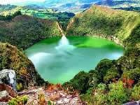 Cerrada la  Laguna de Guatavita por mantenimiento