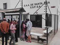 Siguen protestas por exagerado incremento en tarifas de agua en Santa Ana Soacha