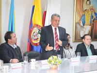 Alcalde de Soacha se reunió con congresistas y pidió  apoyo del gobierno nacional