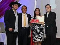En la Noche del Arte y la Cultura de Soacha, 26 artistas recibieron el premio Varón del Sol, máximo galardón de la ciudad