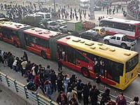 Bloqueos de Transmilenio en Bogotá afectan a habitantes de Soacha