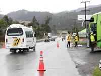 Listo plan retorno en Cundinamarca para el puente de la Asunción