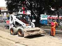 Avanza pavimentación de la carrera séptima de Sibaté