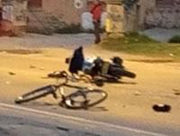 En Soacha muere ciclista al chocar contra una motocicleta