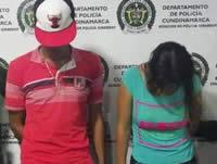 Capturan dos personas por tráfico de estupefacientes