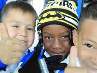 Niños afro de Soacha  fueron al Jaime Duque