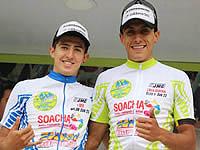 Quiroz ganó la cronoescalada de la clásica Soacha y mantiene el liderato