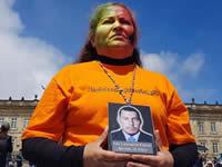 Luz Marina Bernal rindió homenaje a su hijo y a los falsos positivos de Soacha