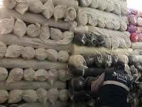 En Soacha decomisan tela de contrabando