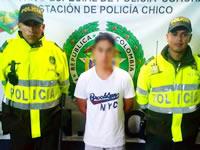 En Soacha capturan cinco personas por  hurto y tráfico de estupefacientes