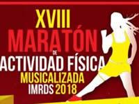 Este domingo es la XVIII Maratón de Actividad Física Musicalizada