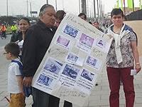 Residentes de Hogares Soacha protestan por publicidad engañosa