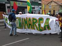 Desde Soacha, UDEC encabeza la marcha por la defensa de la educación pública