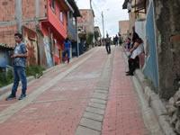Adoquinamiento y pavimentación de vías en Soacha