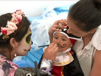 Ojo que el Halloween puede afectar la piel de su hijo