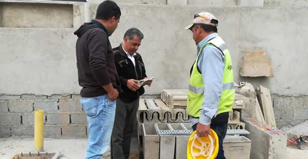 Alcaldía inspecciona avance de obra en La Veredita
