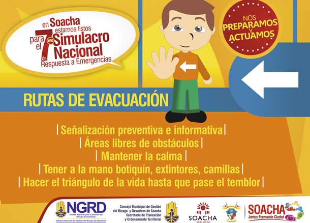Soacha se prepara para Simulacro Nacional de emergencias