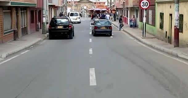 En el centro de Soacha también hacen intervención vial