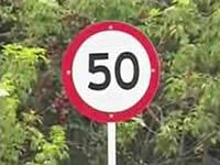 Ya se instaló señalización que reduce velocidad a 50 km/h en Bogotá