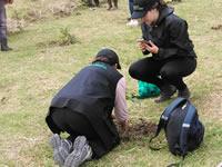 Aniversario de la CAEM y siembra de árboles en La Poma