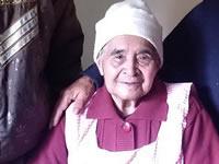 En Soacha vive anciana de 101 años