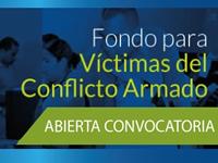 Fondo educativo para víctimas del conflicto armado inicia  convocatoria