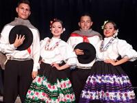 Artistas de Soacha presentan el folclor colombiano en México