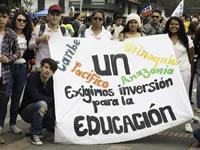 Puntos claves de las marchas de este jueves en Bogotá
