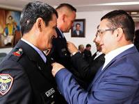 Condecoran al Cuerpo Oficial de Bomberos de Soacha