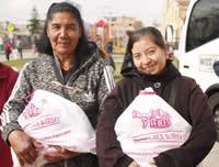 Alcaldía de Soacha entrega mercados a familias vulnerables