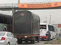 Restricción de carga por la calle 13  de Bogotá beneficia a municipios de Cundinamarca