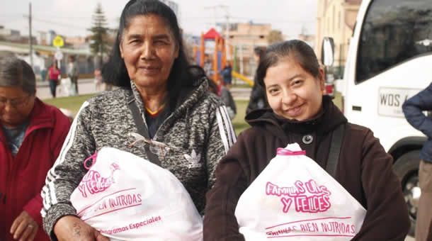 Seguridad alimentaria a familias vulnerables
