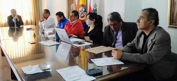 En el auditorio Plaza Mayor prosigue construcción del Plan de Desarrollo