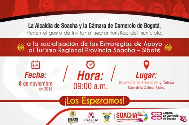 Alcaldía socializa estrategias de apoyo al turismo de Soacha