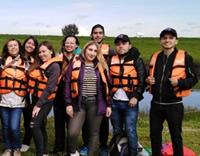 En Soacha  jóvenes universitarios  aprenden a cuidar el río Bogotá