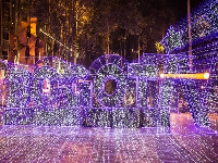 Los detalles del show de luces navideñas en la Plaza de Bolívar