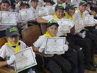 Nueva promoción de cívicos infantiles y juveniles de Soacha
