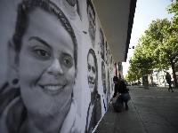 """Colombia honra a los migrantes venezolanos con fotos de """"esperanza"""""""