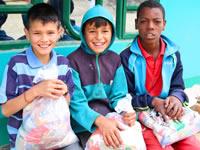En Soacha se entregaron  más de seis toneladas de alimentos a población vulnerable