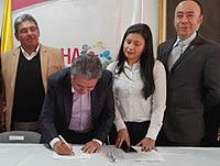 Soacha firma pacto por la educación superior