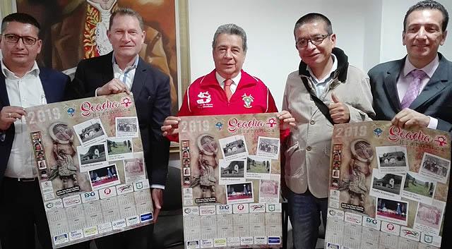 """Soacha histórica presenta su """"calendario"""" de 2019"""