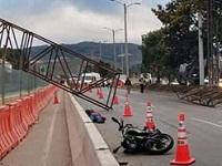 Accidente colapsa salida de Soacha