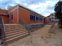 Avanzan las obras en la IED Tequendama del municipio de El Colegio