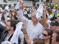 Bogotá y el país le dijeron ¡no al terrorismo!
