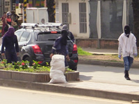 Encapuchados alteran orden público  en la UDEC Fusagasugá