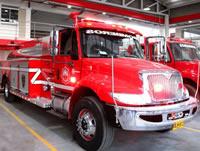 Nuevo vehículo para los Bomberos de Soacha