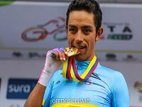Daniel Martínez, orgullo de Cundinamarca, brilló en el Campeonato Nacional de Ruta